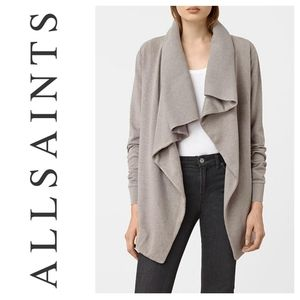 ALLSAINTS Dahlia Sweatshirt Cardigan All Saints